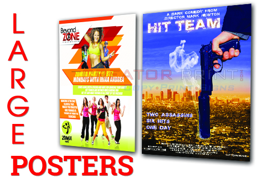 Large Poster Printing Large Format Printing In Los Angeles